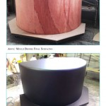 Plug and mould for tanks in GRP