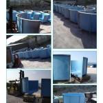GRP tanking fish aqua cultural