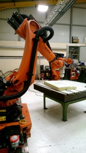 Kuka robotics in Ireland composites